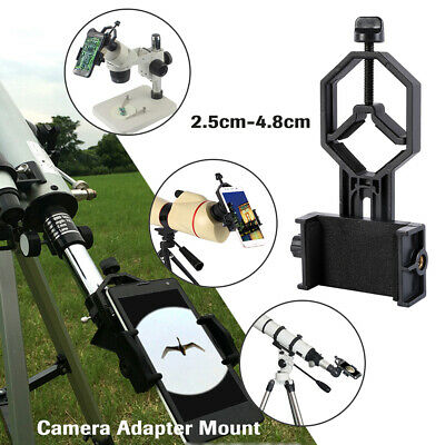 Metal Camera Adapter Mount Bracket For Telescope Spotting Scope Binocular Phone