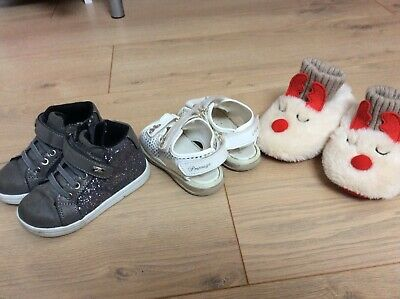 girls infant shoes size 6 bundle