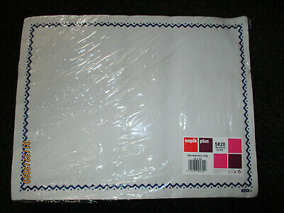 500 White Disposable Paper Placemats Tray Cover 32X42CMS PACK OF 500 NUPIK CAFE
