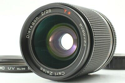 【TESTED N MINT+】 CONTAX Carl Zeiss Distagon T* 28mm f/2 AEG Wide Lens from JAPAN