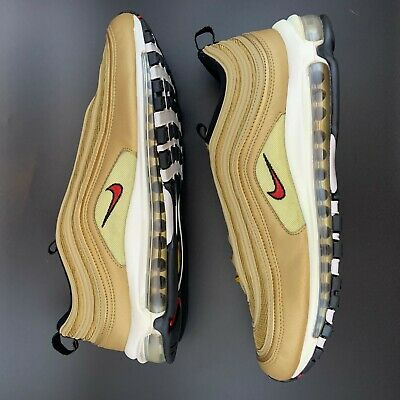 NIKE AIR MAX 97 OG Metallic Gold 884421 700 Size 14