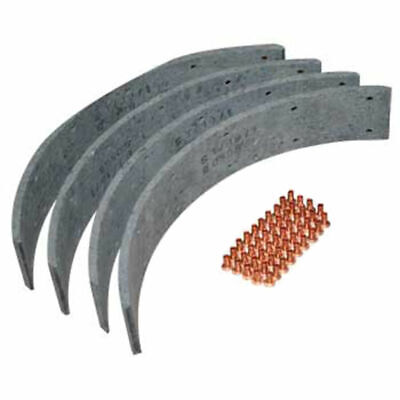1851062M91 Brake Lining Kit for Massey Ferguson 35 135 230 240 Tractors