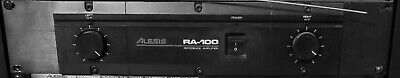 Alesis RA-100 Reference Stereo Power Amplifier 100W/CH @ 4-OHM 75W/CH @ 8-OHM