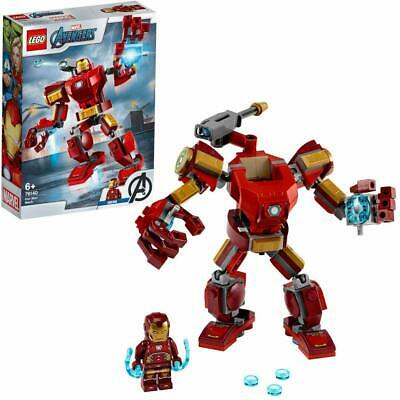 LEGO 76140 Marvel Avengers Super Heroes Iron Man Armored Mech Building Toy Set
