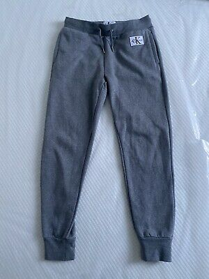 Calvin Klein Grey Joggers / Tracksuit Bottoms Size S Small