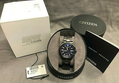 Citizen Eco-Drive Men's Stainless Steel Watch W/ Box