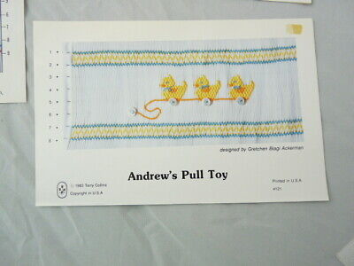 Smocking Plate Terry Collins Andrew's Pull Toy Gretchen Ackerman #121