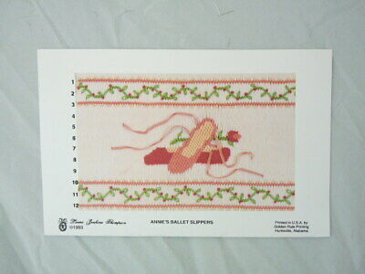 Smocking Plate Laura Jenkins Thompson Annie's Ballet Slippers Heirloom Sewing