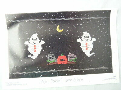 Smocking Plate Little Memories The Boo Brothers #098 Heirloom Sewing