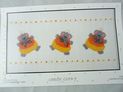 Smocking Plate Little Memories Candy Corn-y #159