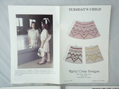 Smocking Plate Kathy Crisp Designs Tuesday's Child Heirloom Sewing