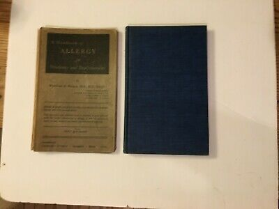 1942 A Handbook of Allergy for Students and Medical Practitioners 1st Ed Illus.