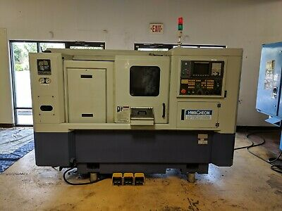 2 Hwacheon cnc, metal turning center 1 Supermax mill cnc lot
