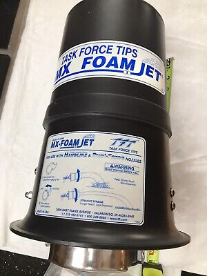 Task Force Tips, TFT, Foam Nozzle attachment Model FJ-HMX, New, Fire Department