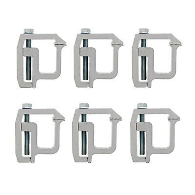 ABN Truck Topper Clamps - 6 Pack Truck Canopy and Truck Cap Mounting Clamps