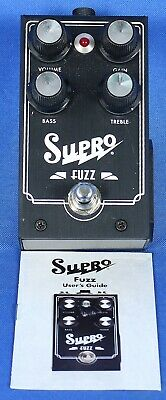 Supro Fuzz Overdrive Distortion Electric Guitar Effect Effects Pedal