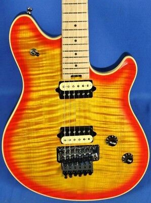Peavey USA HP2 Carved Figured Top Electric Guitar Cherryburst w/ OHSC & COA