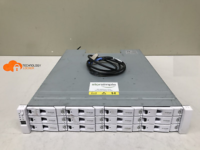 Microsoft HB-1235 StorSimple 8100 Cloud Storage Array 5 x 400Gb SSD 7 x 3TB SAS