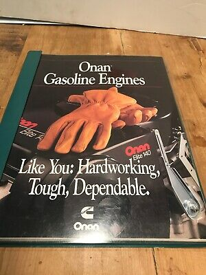Onan Gas Engine Catalog,Sales,Post Sale Lit. Short Block Index, Replace Eng.Ref.