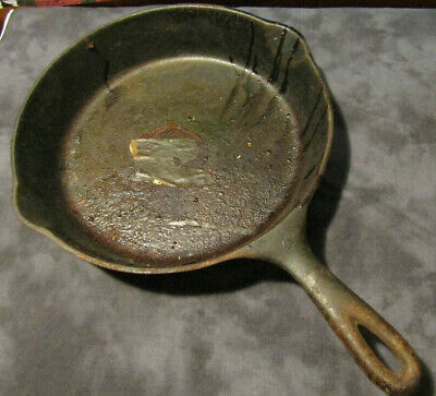 no.8 WAGNER WARE CAST IRON SKILLET 1058S Restaurant Bar Saloon Cafe * WALL DECOR