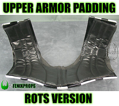 Darth Vader Upper Armor ROTS version PADDING STAR  WARS  prop