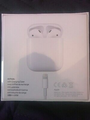 Genuine APPLE AirPods with Charging Case - White - Brand New And Sealed