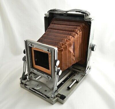 *AS-IS* TOYO FIELD Sakai special 4 3/4 x6 1/2 inch Large Format Film Camera