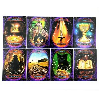 47Pcs Witches Wisdom Oracle Cards ~Stunning Deck Of Cards And Information Book