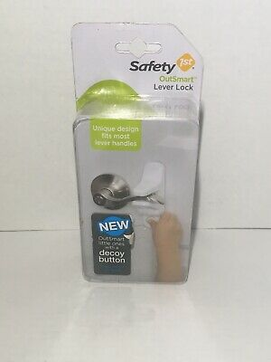 Safety 1st OutSmart Child Proof Door Lever Lock (White)
