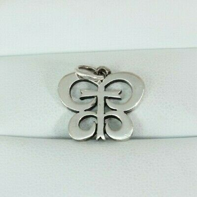 James Avery Sterling Silver Cross Butterfly Charm Rare Free Shipping!