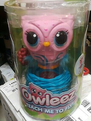 Owleez Teach Me To Fly, PINK Flying baby owl, Interactive kids child Drone NEW