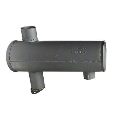 70243283 Horizontal Round Body Muffler for Allis Chalmers AC Tractor Model 190