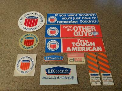 Bf Goodrich Decals Nos Bf Goodrich Tires Decal Set