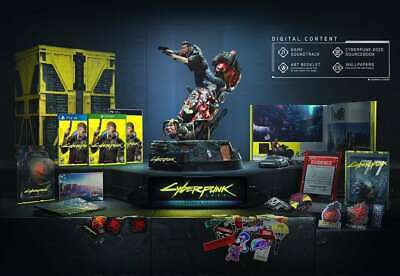 Cyberpunk 2077 Collector's Edition PC Worldwide Shipping * Pre-order * Sealed *