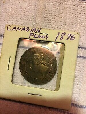 1896 Canada Large Cent Coin