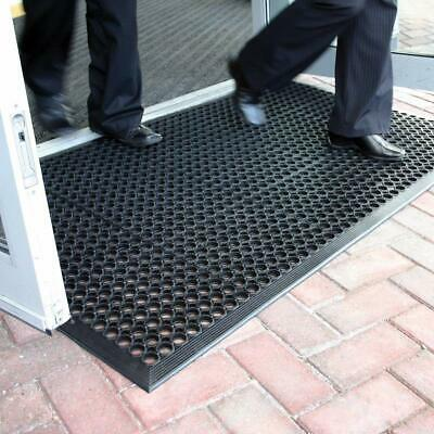 Large Heavy Duty Rubber Ring Matting Entrance Big Mats Safety Workplace Outdoor