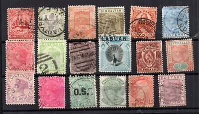 British Commonwealth QV Victorian collection WS16376