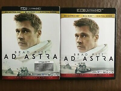 Ad Astra 4K UHD and Blu ray