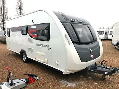 2014 Sterling Eccles Se Ruby - 4 Berth Fixed Bed Touring Caravan *High Spec*