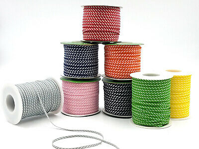 NEW! May Arts 5mm Diagonal Striped Ribbon - price per metre or on a 91.4m roll