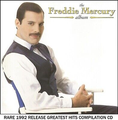 Freddie Mercury - Very Best Essential Greatest Hits Collection - RARE CD (Queen)