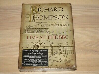 Richard Thompson & Linda Thompson 3 CD DVD BOX - LIVE AT THE BBC in NEU SEALED