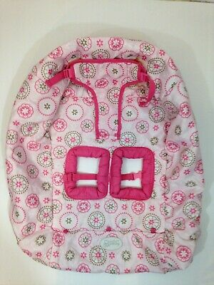 Shopping Cart Buggy Seat Cover Baby Girls Pink Floral Kids II Comfort & Harmony
