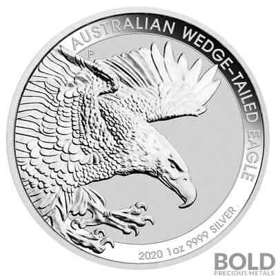 2020 Australia Perth Wedge-Tailed Eagle 1 oz Silver BU