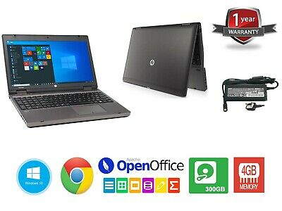 "Cheap Fast HP Windows 10 LAPTOP 14"" Core i3 2nd Gen 2.40GHz 4GB 300GB"