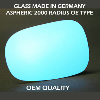 Left side for Renault Modus 2004-2008 Wide Angle heated wing door mirror glass