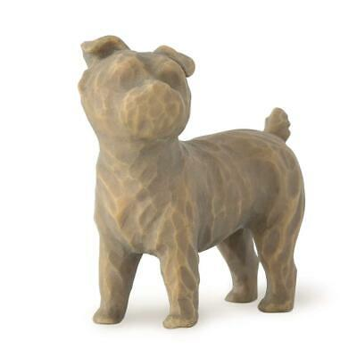 Willow Tree - Figurine Love My Dog (Dark Small Standing) Collectable Gif
