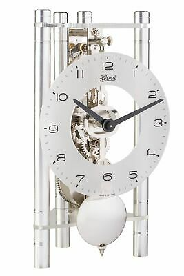 Hermle -transmission 20cm- 23025-X40721 High Quality Analog Table Clock with Sch