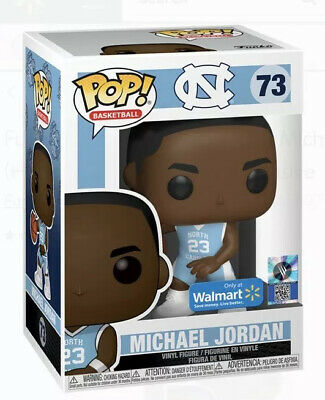 NEW Funko Pop! EXCLUSIVE North Carolina Tar Heels Michael Jordan #73