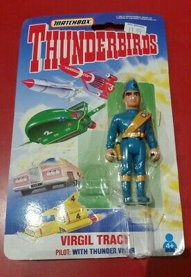 Thunderbirds Matchbox Virgil Tracy action figure (opened packaging)